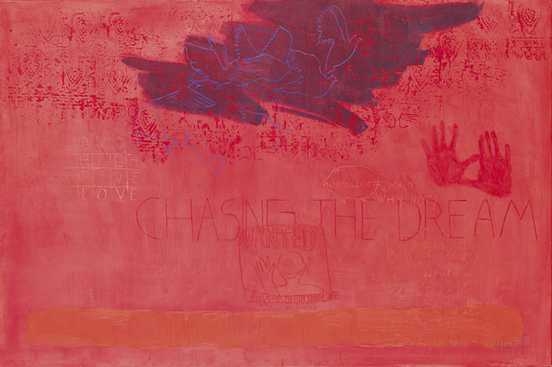 Merel-work-2010-12-Chasing_the_dream-150x100cm